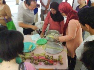 Making the Harmony Dumpling