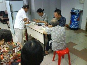 Iridologists conducting Health Screening