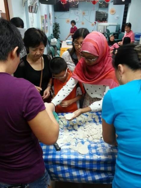 Learning how to make Steamed Dumplings